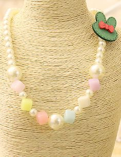 Girls Necklace,All Seasons Others Green / Red 5141750 2016 – $2.99