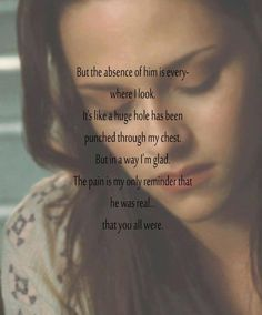 Her emotions hit home. Every time she described her pain, I felt it. SM did amazing.