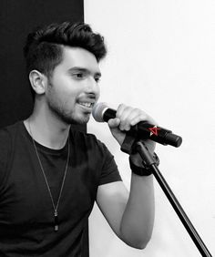 His first microphone with his logo on it. ARMAAN You're just Muaaahh. My Favorite Part, Favorite Tv Shows, Singer Talent, Handsome Prince, Handsome Guys, Chennai Super Kings, You Are Cute, My Prince Charming, Romantic Songs