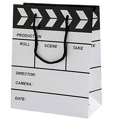 Hollywood Tablero Gifts Paper Bag