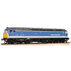 Bachmann Class 47 47715 Loco HAYMARKET BR Network SouthEast