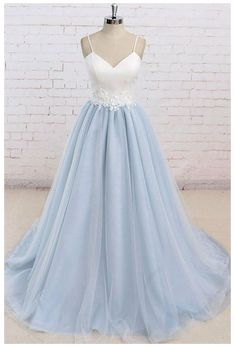 Blue Graduation Dresses, Prom Dresses Uk, Backless Prom Dresses, Tulle Prom Dress, Formal Evening Dresses, Sexy Dresses, Bridesmaid Dresses, Summer Dresses, Sky Blue Dresses