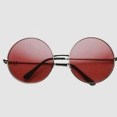 b51a063bc Óculos De Sol Circulares, Óculos De Sol Redondos, Óculos Escuros Estilosos,  Tons De