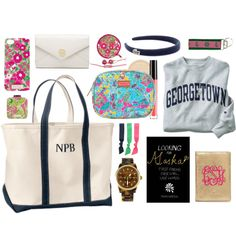 """Packing an Airplane Carry-On"" by classically-preppy on Polyvore"