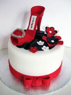 High Heeled Shoe cake