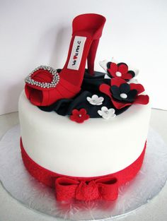 High Heeled Shoe cake