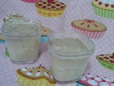 Recetas con encanto: YOGUR DE PLÁTANO Y GALLETA (Multidelices) No Dairy Recipes, Kefir, Sour Cream, Mousse, Pudding, Healthy, Desserts, Blog, Popular