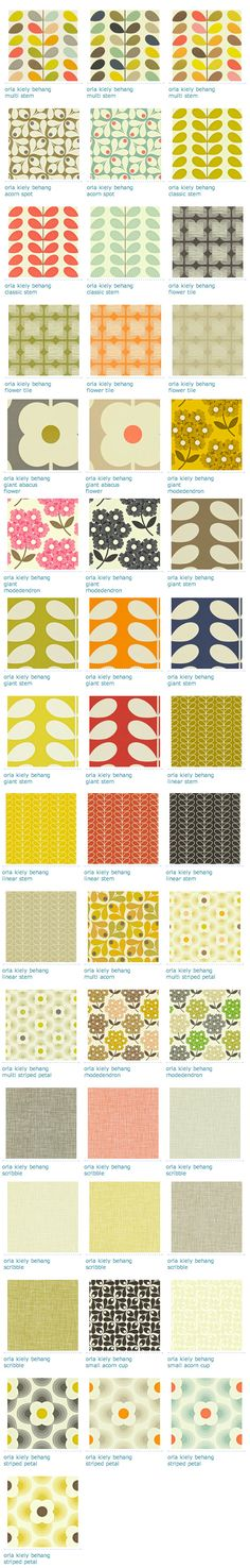 Orla Kiely Art Pattern Design