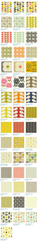 Orla Kiely Art Pattern Design