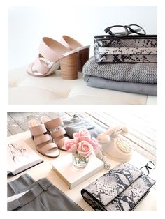 Soft Grey and Pink