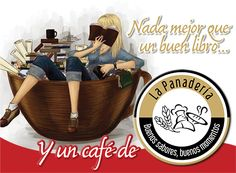 ¿Quién puede decir que hay algo mejor que un buen #libro y un #café caliente? @LasPanaderias  www.facebook.com/grupolaspanaderias www.lapanaderia.com.ve www.laspanaderias.blogspot.com #GrupoLasPanaderias