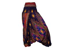 Women's Colorful Thai Harem Pants by AsianCraftShop on Etsy, $20.00, Thai Harem Pants, Aladin pants, baggy pants, yoga pants, Trousers, Bohemian pants, Gypsy pants, Hippie pants, Genie pants, Aladdin pants, Boho pants, Smock, Jumpsuit