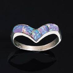 opal inlay ring from Pyramid Collection.   beautiful, and just my style !