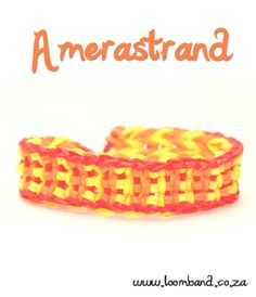 Amerastrand Loom Band Bracelet Tutorial, instructions and videos on hundreds of loom band designs. Shop online for all your looming supplies, delivery anywhere in SA.