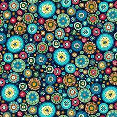 Aurelia Makower Circles Quilting Fabric