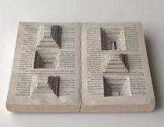 Ryuta Iida's Beautiful Book Cuts