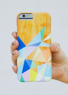 Protect your new iPhone 6 with a beautifully elegant and geometric nature inspired case by artist House Of Jennifer on Society6.