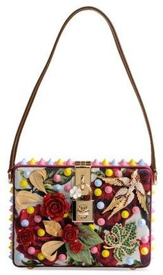 DOLCE & GABBANA Small fabric bag THECORNER.COM