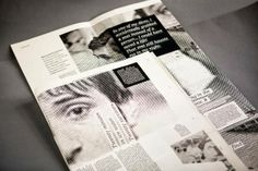 awesome newspaper layout inspiration