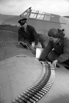Re-arming the hawker hurricane