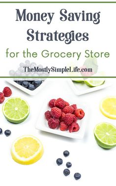 Money Saving Strategies for the Grocery Store   Save money on groceries   Save money on food   Inexpensive food   Click through to see these great tips!