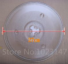 27cm Diameter Microwave Oven Parts Galanz Glass Plate