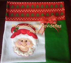 Manualidades Anafer: Moldes Christmas Stockings, Christmas Tree, Christmas Ornaments, Santa, Seasons, Holiday Decor, How To Make, Crafts, Cilantro