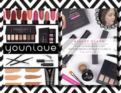 Younique Blitz Cards, Younique 3D+, Younique makeup, Younique marketing cards, Younique 3D+ Fiber Mascara cards, Moonstruck by TheWrightInvite on Etsy