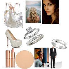 Untitled #82 by drenchedincouture on Polyvore featuring polyvore fashion style Blue Nile Allurez Theory Charlotte Tilbury
