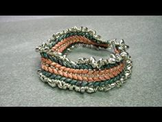 ▶ Double Herringbone Superduo Beads Bracelet - YouTube