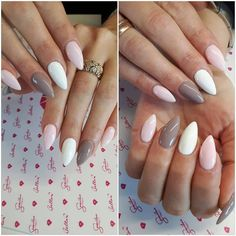 Like the colours, hate stiletto nails tho May Nails, Nails Only, Love Nails, Hair And Nails, Fabulous Nails, Perfect Nails, Gorgeous Nails, Stiletto Nails, Shellac Nails