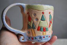 #ceramics #ceramicstudio #art #mug #merrychristmas #contemporaryart…