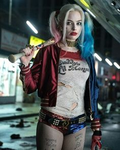 """Ohh that she is...the fire in my loins...the itch in my crotch! The one the only, the infamous! Harley Quinn!...*whistles* ohh come to daddy""  #harleyquinn #margotrobbie #dc #suicidesquad #jaredleto #joker #jaredletojoker"