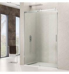 Mampara de ducha modelo ROTARY 1 fijo + 1 corredera en Transparente