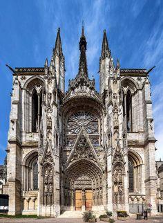 Rouen's churches… © Michael Evans Photographer 2013