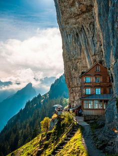Aescher Hotel and Restaurant in Zwitserland | ELLE