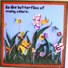 A super Be Like The Butterfly of Many Colours classroom photo contribution. Great ideas for your classroom! Classroom Displays, Classroom Themes, Visible Learning, Spring Theme, Photo Displays, Butterflies, Preschool, Colours, Display Ideas
