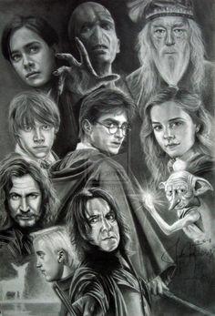 Harry Potter by JAFartwork.deviantart.com