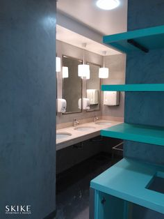 Changing room, Clube VII | Skike Design
