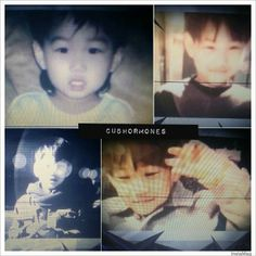 kai's predebut pics shown during their concert ~
