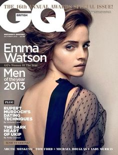 Emma Watson GQ's Woman of the Year - well deserved Emma, no one more so