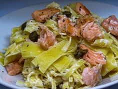 Těstoviny s lososem Pasta Salad, Ethnic Recipes, Crab Pasta Salad