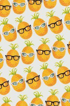 Pineapple Party! Art Print by Zeke Tucker | Society6: