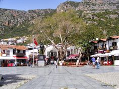 Central Square, Kaş, Turkey #Kaş #Turkey #Antalya