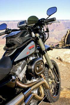 SC3 Dual Sport based on a Harley Davidson Sportster