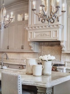 like the cabinet color and counter top - just not all the fussy details.
