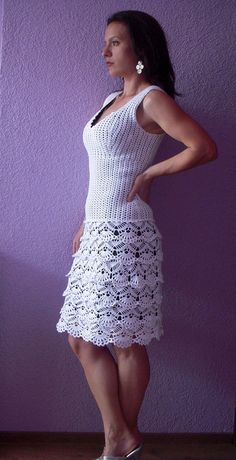 Love this crochet dress!