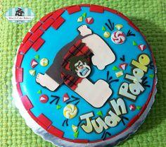 Pastel Ralph El Demoledor - Wreck It Ralph Cake