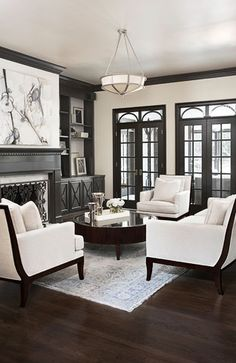 1000 ideas about black trim on pinterest grey trim - Interior designers greenville sc ...