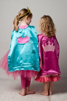 Super Hero or Princess Cape reversible you select by RugratDesign, $17.00